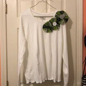 Just Jane XL long sleeve shirt